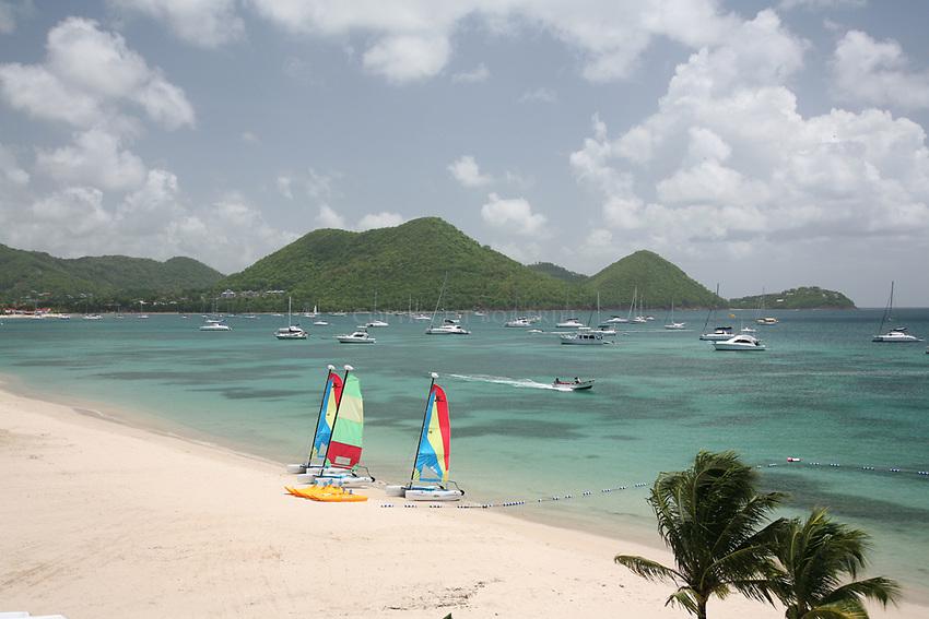 The Landings resort, Rodney Bay, St. Lucia