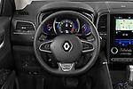 Car pictures of steering wheel view of a 2020 Renault Koleos Initiale Paris 5 Door SUV