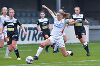 Lenie Onzia (8) of OHL pictured during a female soccer game between Standard Femina de Liege and Eendracht Aalst on the 12 th matchday of the 2020 - 2021 season of Belgian Scooore Womens Super League , saturday 30 th of January 2021 in Angleur , Belgium . PHOTO SPORTPIX.BE | SPP | STIJN AUDOOREN