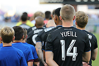SAN JOSE, CA - AUGUST 24: Jackson Yueill #14 of the San Jose Earthquakes prior to a Major League Soccer (MLS) match between the San Jose Earthquakes and the Vancouver Whitecaps FC  on August 24, 2019 at Avaya Stadium in San Jose, California.