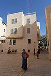 Judea, Hebron Mountain. The Jewish quarter in Hebron