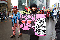 Journee de la femme le 8 mars 2015<br /> <br /> PHOTO :  Agence Quebec Presse