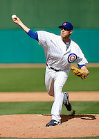 Mitch Atkins - Chicago Cubs - 2009 spring training.Photo by:  Bill Mitchell/Four Seam Images