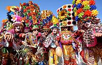 BARRANQUILLA - COLOMBIA, 11-02-2018:Carnaval de Barranquilla ,desfile de la Gran Parada / Great carnival parade of Barranquilla: Vizzorimage / Alfonso Cervantes / Contribuidor