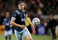 CARSON, CA - MARCH 07:  during a game between Vancouver Whitecaps and Los Angeles Galaxy at Dignity Health Sports Park on March 07, 2020 in Carson, California.
