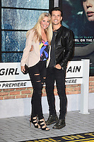 "Carly Stenson and Danny Mac<br /> at the premiere of ""The Girl on the Train"", Odeon Leicester Square, London.<br /> <br /> <br /> ©Ash Knotek  D3156  20/09/2016"