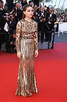 Thylane Blondeau sur le tapis rouge pour la projection du film en competition OKJA lors du soixante-dixiËme (70Ëme) Festival du Film ‡ Cannes, Palais des Festivals et des Congres, Cannes, Sud de la France, vendredi 19 mai 2017.