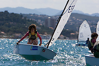 DENIAVELA LIGERA, Real Club Náutico de Denia, Denia, Alicante 1-3 Mayo 2009 .CAMPEONATO AUTONOMICO DE OPTIMIST A