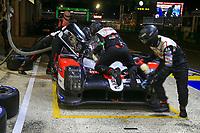 #7 TOYOTA GAZOO RACING (JPN) TOYOTA TS050 HYBRID LMP1 HYBRID MICHAEL CONWAY (GBR)  KAMUI KOBAYASHI (JPN) JOSE MARIA LOPEZ (ARG)