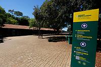FOZ DO IGUAÇU, PR - 24.03.2020 – CORONAVIRUS-PR – Imagem da praça de alimentação do Parque Nacional do Iguaçu totalmente vazio na manhã desta terça-feira (24).O parque continua fechado para o público até a segunda ordem. Fato ocorre devido ao COVID-19. (Foto: Paulo Lisboa/Brazil Photo Press)