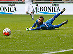 Nederland, Enschede, 18 oktober 2015<br /> Seizoen 2015-2016<br /> Eredivisie<br /> FC Twente-N.E.C. <br /> Benjamin Kirsten, doelman (keeper) van N.E.C.