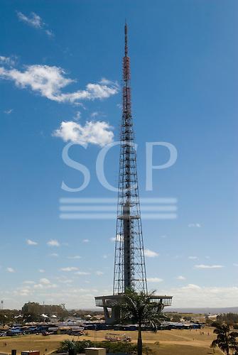 Brasilia, Brazil. The television tower.