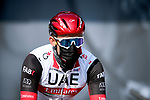 Alexander Kristoff (NOR) UAE Team Emirates at sign on before Stage 2 of Paris-Nice 2021, running 188km from Oinville-sur-Montcient to Amilly, France. 8th March 2021.<br /> Picture: ASO/Fabien Boukla | Cyclefile<br /> <br /> All photos usage must carry mandatory copyright credit (© Cyclefile | ASO/Fabien Boukla)