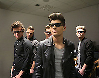 Niall Horan, Zayn Malik, Liam Payne, Harry Styles, and Louis Tomlinson navigate the high and lows of fame in this study from investigative documentarian Morgan Spurlock. Shot in 3D, 1D3D follows the quintet around the world as they tour, sign autographs and phone home to mum REF NO : 74018 <br /> FOR EDITORIAL USE ONLY<br /> <br /> <br /> Scope Features Agency does not claim any Copyright or License in the attached material. Any downloading fees charged by Scope are for Scope services only, and do not, nor are they intended to, convey to the user any Copyright or License in the material. By publishing this material , the user expressly agrees to indemnify and to hold Scope harmless from any claims, demands, or causes of action arising out of or connected in any way with user's publication of the material.