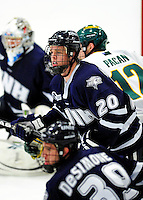 6 December 2009: University of New Hampshire Wildcats' defenseman Blake Kessel, a Sophomore from Verona, WI, in action against the University of Vermont Catamounts at Gutterson Fieldhouse in Burlington, Vermont. The Wildcats defeated the Catamounts 5-2 in the Hockey East matchup. Mandatory Credit: Ed Wolfstein Photo