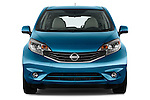 Straight front view of a 2014 Nissan Versa Note SV SL Hatchback2014 Nissan Versa Note SV SL Hatchback
