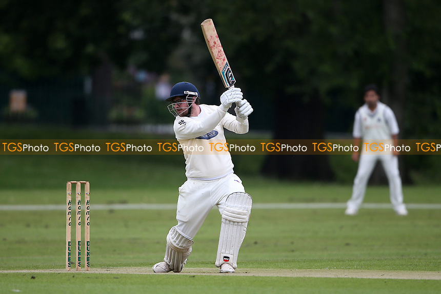 F Jacobs in batting action for Hornchurch during Hornchurch CC vs Wanstead and Snaresbrook CC, Hamro Foundation Essex League Cricket at Harrow Lodge Park on 10th July 2021