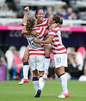 2012 Olympics USA Women vs New Zealand