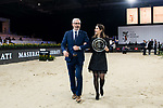 Award presentation ceremony of Maserati Masters Power during the Longines Masters of Hong Kong at AsiaWorld-Expo on 10 February 2018, in Hong Kong, Hong Kong. Photo by Diego Gonzalez / Power Sport Images