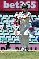 10th January 2021; Sydney Cricket Ground, Sydney, New South Wales, Australia; International Test Cricket, Third Test Day Four, Australia versus India; Steve Smith of Australia reacts after losing his wicket