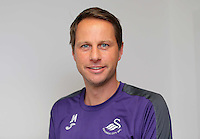 Pictured: Jez McCluskey Wednesday 14 September 2016<br />Re: Swansea City FC training at Fairwood, Wales, UK