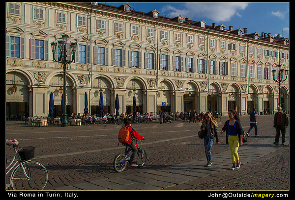Italy, Turin. <br />