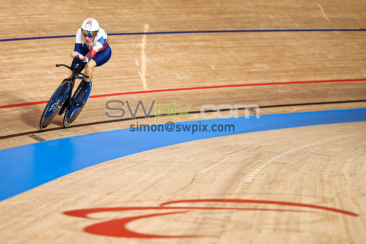 Picture by Alex Whitehead/SWpix.com - Tokyo 2020 Paralympics - 25/08/2021 - Track Cycling - Izu Velodrome, Izu, Japan - Sarah Storey of Great Britain on her way to winning Gold in the Women's C5 3000m Individual Pursuit Final.