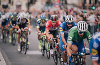 Fernando Gaviria (COL/Quick-Step Floors)<br /> <br /> Stage 8: London to London (77km)<br /> 15th Ovo Energy Tour of Britain 2018