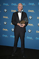 BEVERLY HILLS, CA - FEBRUARY 3: Michael Apted in the press room at the 70th Annual DGA Awards at The Beverly Hilton Hotel in Beverly Hills, California on February 3, 2018. Credit: Faye Sadou/MediaPunch