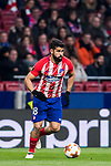 Diego Costa of Atletico de Madrid in action during the UEFA Europa League 2017-18 Round of 16 (1st leg) match between Atletico de Madrid and FC Lokomotiv Moscow at Wanda Metropolitano  on March 08 2018 in Madrid, Spain. Photo by Diego Souto / Power Sport Images