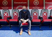 GUADALAJARA, MEXICO - MARCH 18: Earnie Stewart of the United States before a game between Costa Rica and USMNT U-23 at Estadio Jalisco on March 18, 2021 in Guadalajara, Mexico.