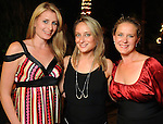 From left: Tiffany Shelton, Jennifer Honeycutt and Taryn Arbeely at the Endeavor for Hope Foundation's Annual Fundraising Gala Saturday May 09,2010.  (Dave Rossman Photo)