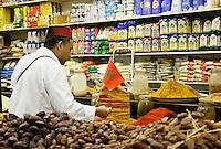 Nederland  Beverwijk 2017. De Bazaar in Beverwijk. De Oosterse Markt. Marokkaanse etenswaren. Foto mag niet in negatieve context gebruikt worden.       Foto Berlinda van Dam / Hollandse Hoogte