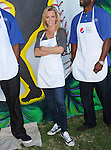 Jenny McCarthy at the Pepsi Refresh Project Mural Painting at El Salvadore Community Center in Santa Ana, California on July 13,2010                                                                               © 2010 Debbie VanStory / Hollywood Press Agency