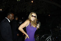 NEW YORK - SEPTEMBER 21:  (EXCLUSIVE COVERAGE) Singer Mariah Carey poses late night on the sidewalk in the West Village after the Vh1 Event and dinner.  Mariah had trouble standing up and lost her balance several times, according to insiders she was apparently heavily intoxicated, on September 21, 2007 in New York City <br /> <br /> <br /> People:  Mariah Carey <br /> <br /> Transmission Ref:  FLXX