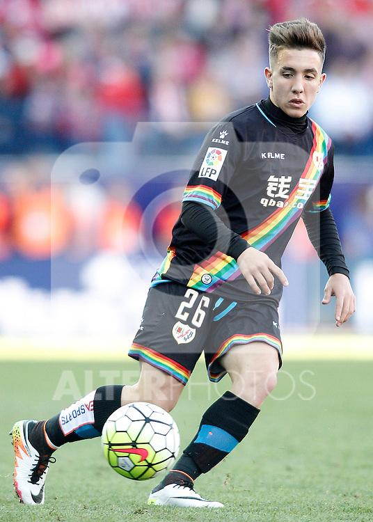Rayo Vallecano's Jonathan Montiel during La Liga match. April 30,2016. (ALTERPHOTOS/Acero)