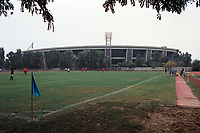General view of MAC Nepstadion FC, Adjacent Nepstadion (People's Stadium), Zuglo, Budapest, Hungary, pictured on 31st August 1996
