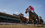 APRIL 5, 2014: Alert Bay with Tyler Baze up wins the Echo Eddie stakes at Santa Anita Park in Arcadia CA. Alex Evers/ESW/CSM