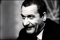 April 19 1988 File Photo- Paolo Conte news conference