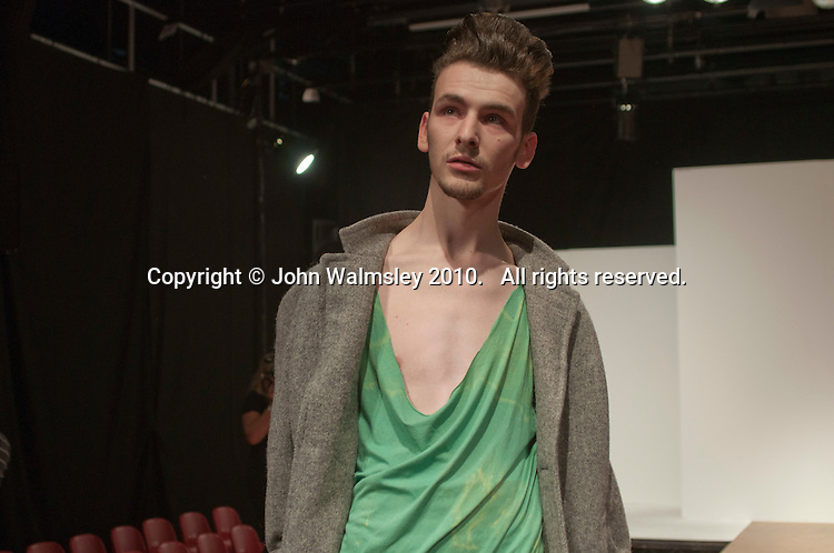 Rehearsal for a Fashion Show at Further Education College.