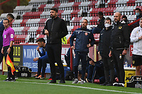 MK Dons F.C.Manager Russell Martin during Stevenage vs MK Dons, EFL Trophy Football at the Lamex Stadium on 6th October 2020