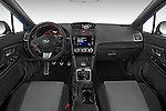 Stock photo of straight dashboard view of 2017 Subaru WRX 2 4 Door Sedan Dashboard