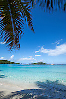 Gibney Beach looking out on Hawksnest Bay<br /> Virgin Islands National Park<br /> St. John<br /> U.S. Virgin Islands