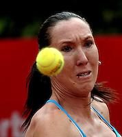 BOGOTA - COLOMBIA - FEBRERO 21: Jelena Jankovic de Serbia, en acción durante partido por la Copa de Tenis WTA Bogotá, febrero 21 de 2013. (Foto: VizzorImage / Luis Ramírez / Staff). Jelena Jankovic from Serbia, in action during a match for the WTA Bogota Tennis Cup, on February 21, 2013, in Bogota, Colombia. (Photo: VizzorImage / Luis Ramirez / Staff)...........