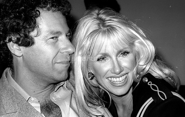 1978 <br /> New York City<br /> Suzanne Somers Alan Hamel at Studio 54<br /> Credit: Adam Scull-PHOTOlink/MediaPunch