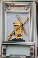Europe/France/Nord-Pas-de-Calais/59/Nord/Lille: Brasserie, Café: Maison du Moulin d'or, place du Théatre, détail de l'enseigne