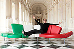 Principe Emanuele Filiberto di Savoia fotografato a Torino  nella Reggia di Venaria in occasione della mostra dedicata ai 150 anni dell'Unità di'Italia, <br /> Torino 21 marzo 2011