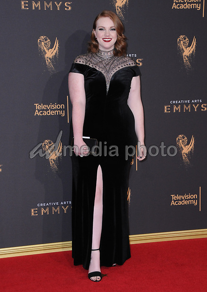 10 September  2017 - Los Angeles, California - Shannon Purser. 2017 Creative Arts Emmys - Arrivals held at Microsoft Theatre L.A. Live in Los Angeles. Photo Credit: Birdie Thompson/AdMedia