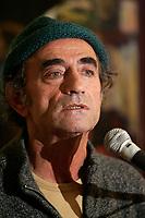 10 Nov 2005, Montreal (Qc) Canada<br /> Richard Bohringer <br /> en conference  de presse <br /> pour son spectacle de chanson et contes Africains <br /> C est Beau une ville la nuit, <br /> <br /> photo : (c) 2005 Pierre Roussel