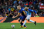 Andres Iniesta Lujan of FC Barcelona xduring the La Liga 2017-18 match between FC Barcelona and Malaga CF at Camp Nou on 21 October 2017 in Barcelona, Spain. Photo by Vicens Gimenez / Power Sport Images